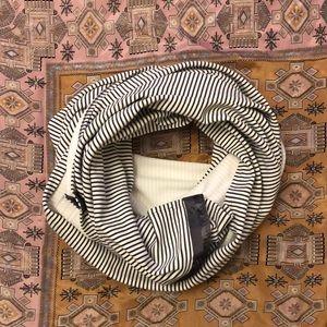 lululemon Vinyasa Scarf in striped fabric